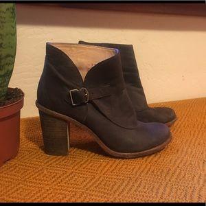 Timberland heeled boots